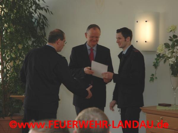 Johannes W?rner neuer Stellvertreter des Stadtjugendfeuerwehrwarts
