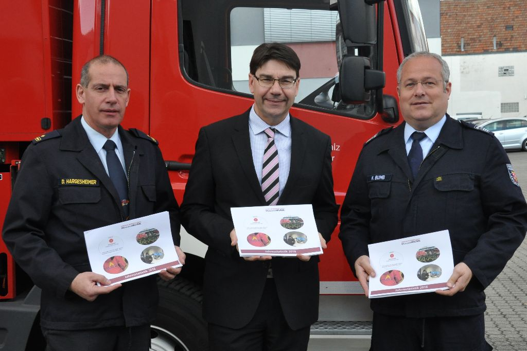 297 Einsätze - 21.144 Stunden - 322 Mitglieder - Eckdaten des Feuerwehrjahres 2016
