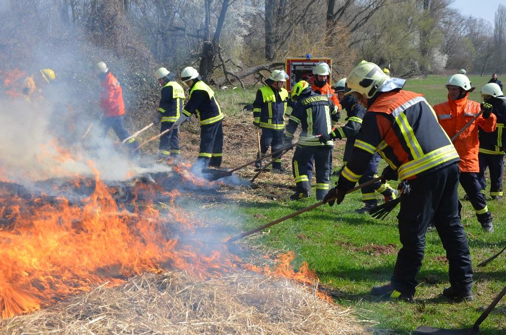 Seminar zur Vegetationsbrandbekämpfung - mehr als 80 Teilnehmer