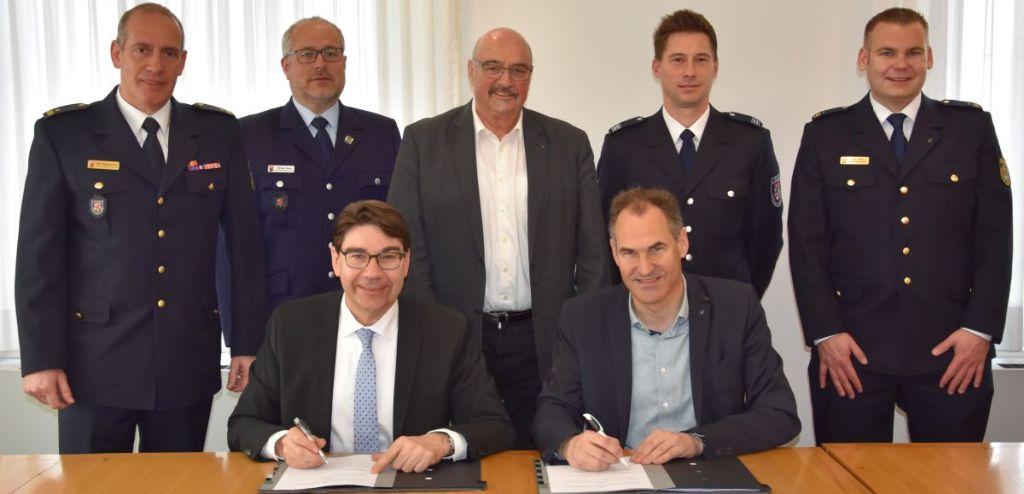 Stadt Landau und Landkreis Südliche Weinstraße vereinbaren umfangreiche Kooperation im Katastrophenschutz