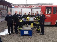 Schaum Marsch! - Neuer Schaumtrainer für die Freiwillige Feuerwehr Landau