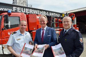 Freiwillige Feuerwehr Landau stellt Jahresbericht 2014 vor