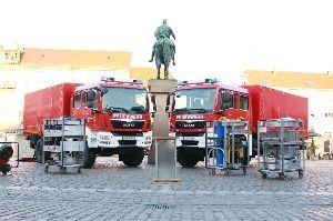 Neue Gerätewagen Dekontamination Personal für Landau und Südliche Weinstraße