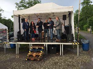 1. Sommerfest des Fördervereins Landau-Godramstein - Spende an Jugendfeuerwehr
