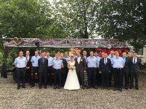 Hochzeit von Steffen Diehl mit seiner Christine
