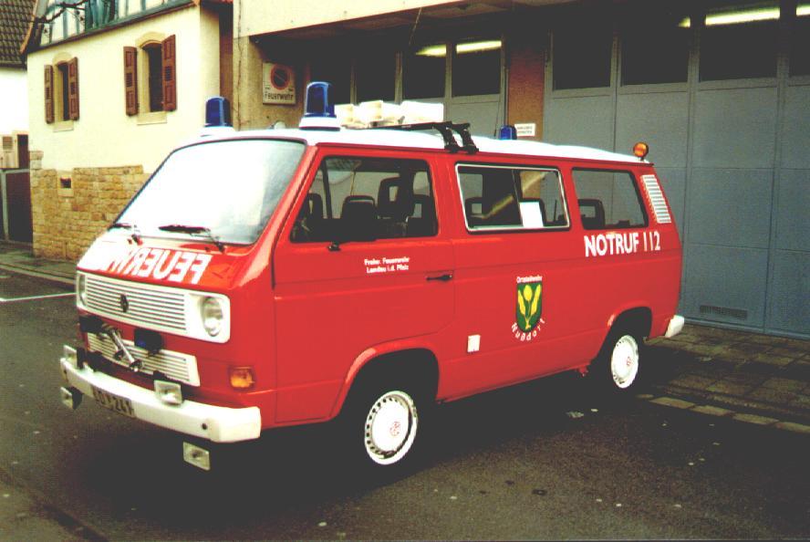 Fahrzeug: Mannschaftstransportfahrzeug MTF Nussdorf - alt