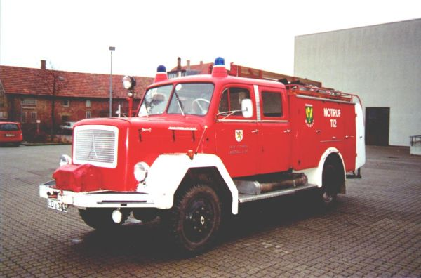 Fahrzeug: Tanklöschfahrzeug TLF 16/24