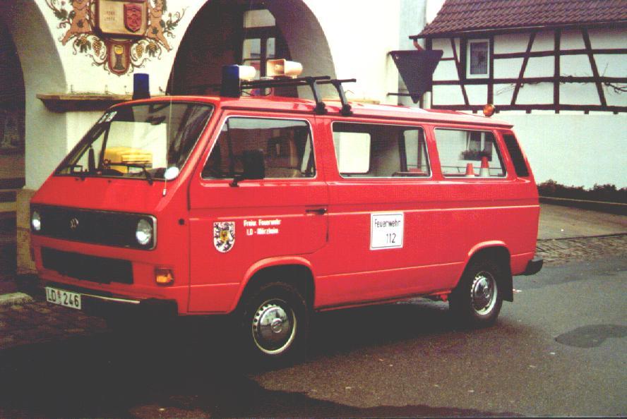 Fahrzeug: Mannschaftstransportfahrzeug MTF Mörzheim - alt