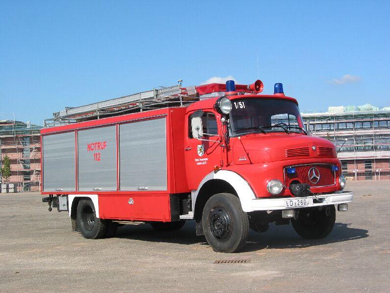 Fahrzeug: Rüstwagen RW 2