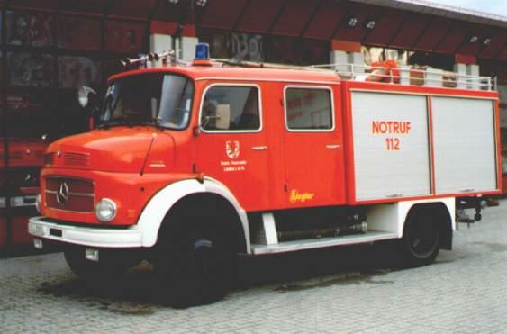Fahrzeug: Tanklöschfahrzeug TLF 16/25 Nussdorf