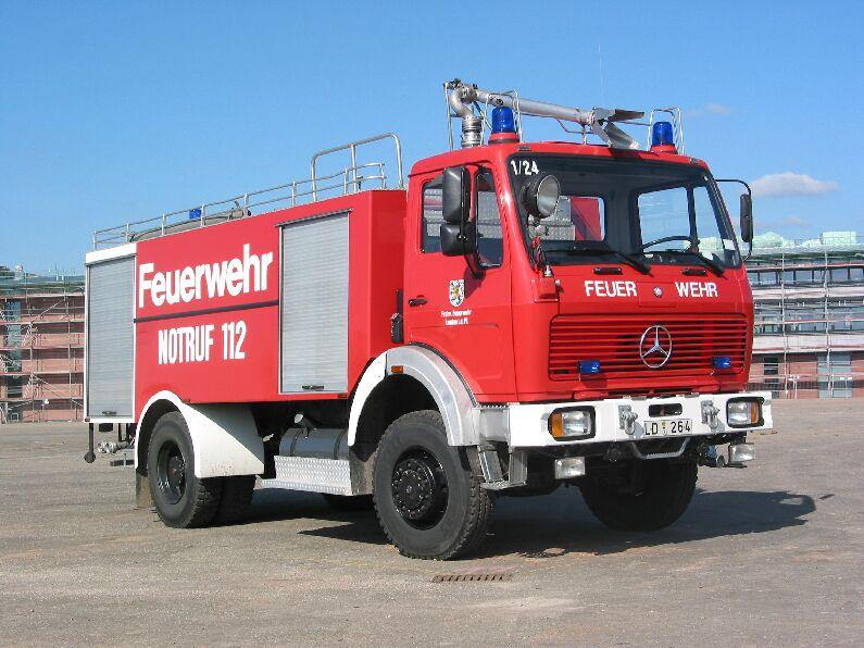 Fahrzeug: Tanklöschfahrzeug TLF 24-50