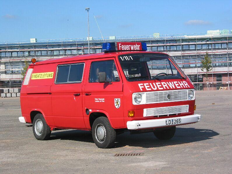 Fahrzeug: Einsatzleitwagen ELW 1-11-1 alt