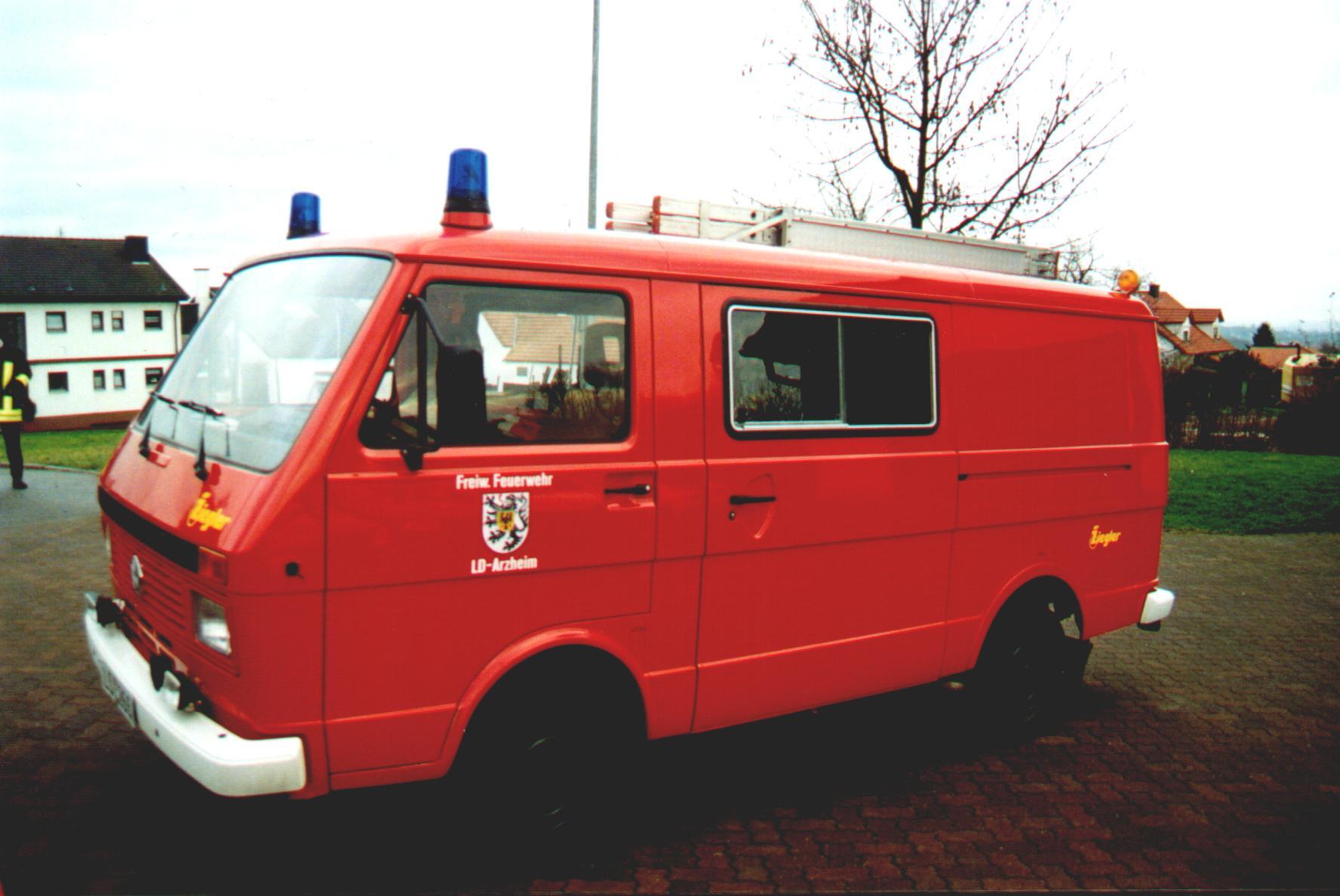 Fahrzeug: Tragkraftspritzenfahrzeug TSF Arzheim
