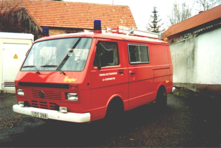 Fahrzeug: Tragkraftspritzenfahrzeug TSF Godramstein