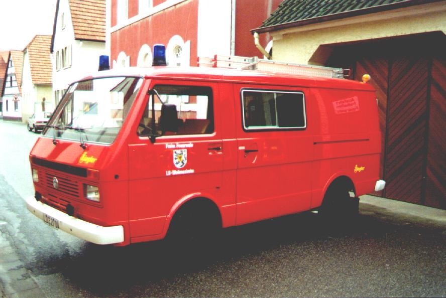Fahrzeug: Tragkraftspritzenfahrzeug TSF Wollmesheim
