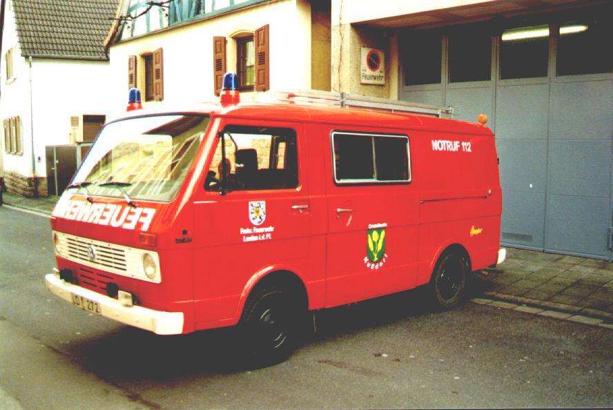 Fahrzeug: Tragkraftspritzenfahrzeug TSF Nussdorf