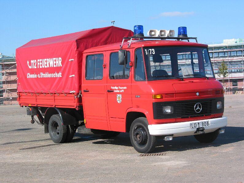 Fahrzeug: Dekontaminationstransportfahrzeug DTF