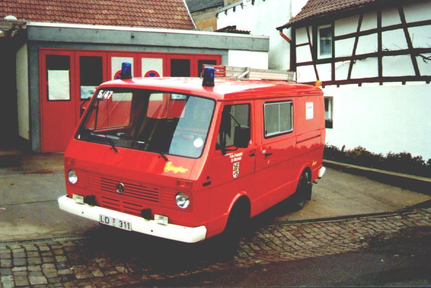 Fahrzeug: Tragkraftspritzenfahrzeug TSF Mörzheim