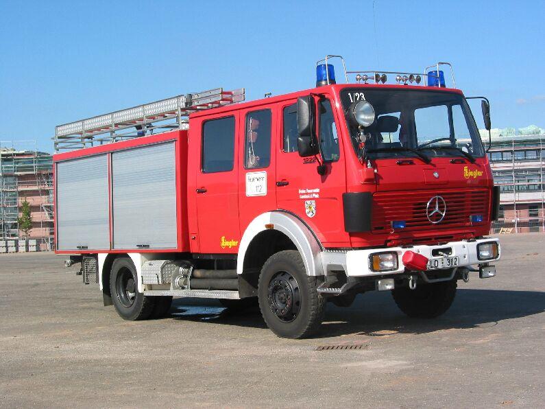 Fahrzeug: Tanklöschfahrzeug TLF 16-25