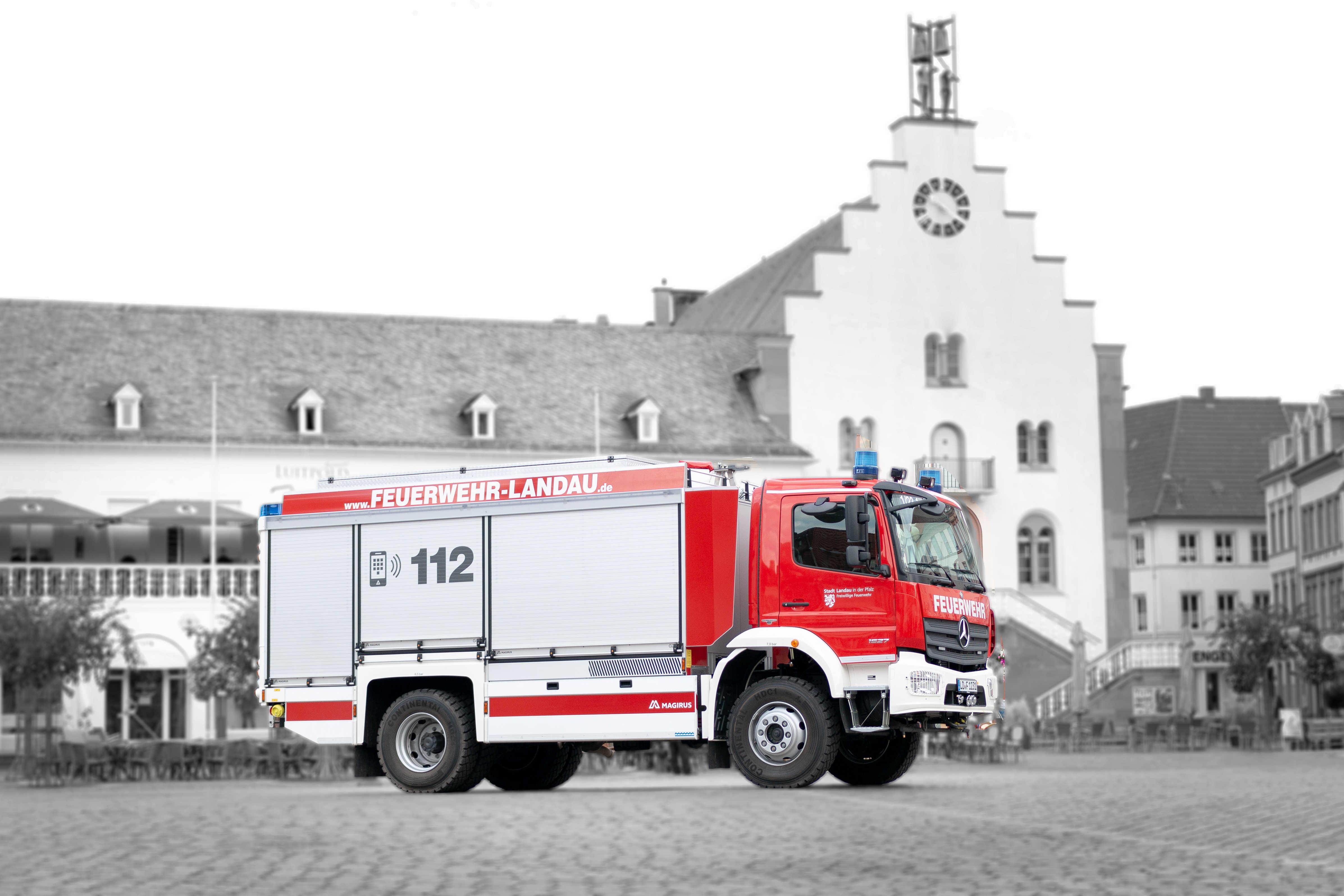 Fahrzeug: Tanklöschfahrzeug 3000 TLF 3000