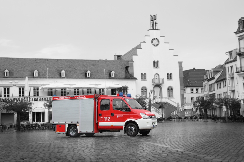 Fahrzeug: Tragkraftspritzenfahrzeug-Wasser TSF-W Wollmesheim