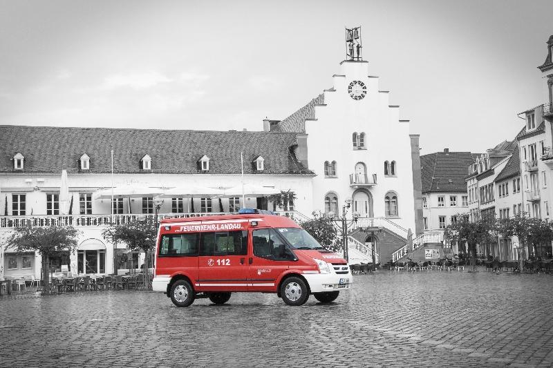 Fahrzeug: Mannschaftstransportfahrzeug MTF Nussdorf