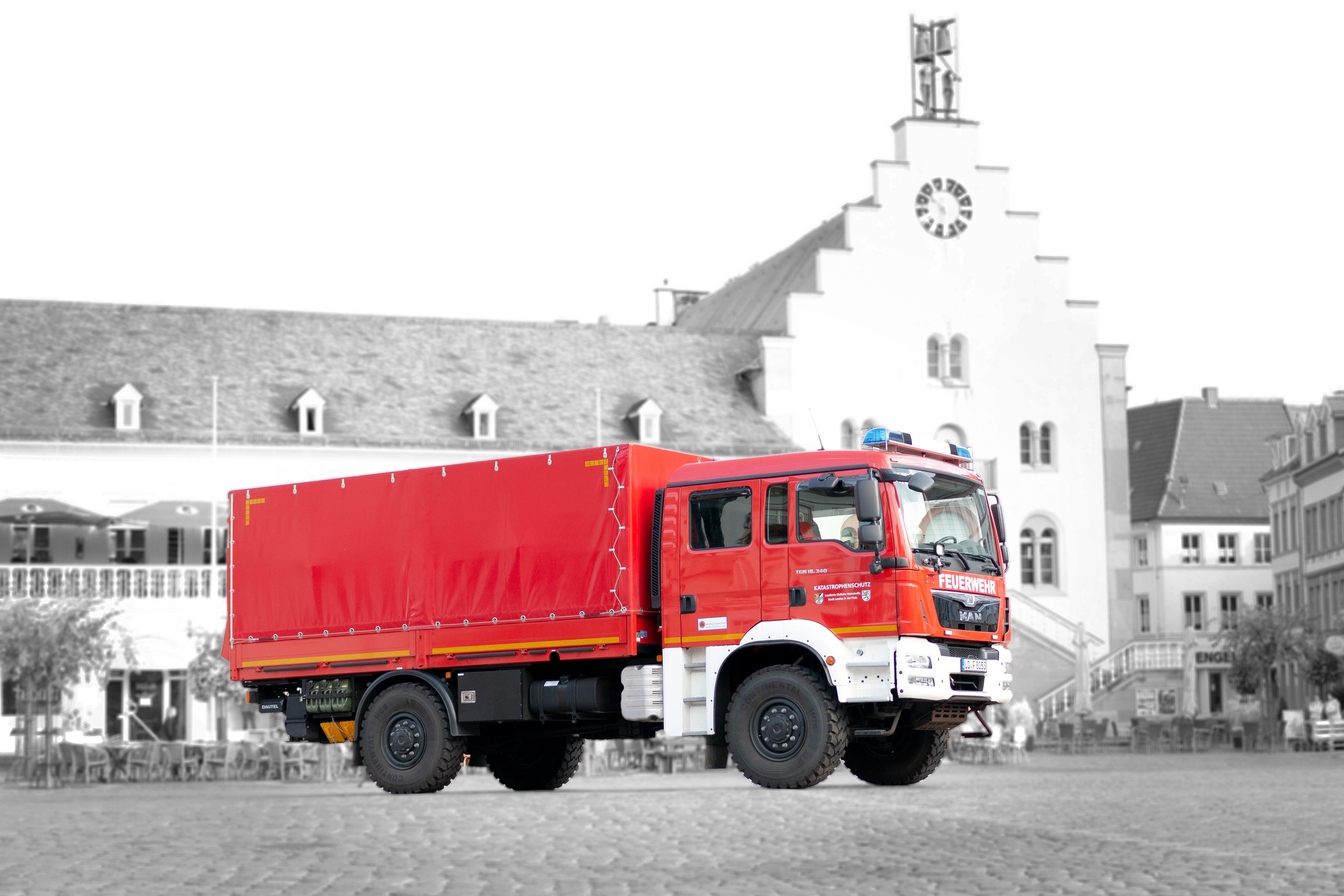 Fahrzeug: Gerätewagen Dekontamination Personal GW-Dekon P